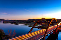 Pennybacker Bridge, Austin, Texas, USA